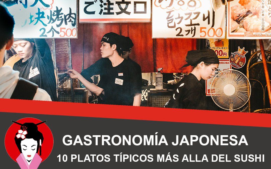 Gastronomía japonesa, 10 platos típicos más allá del sushi
