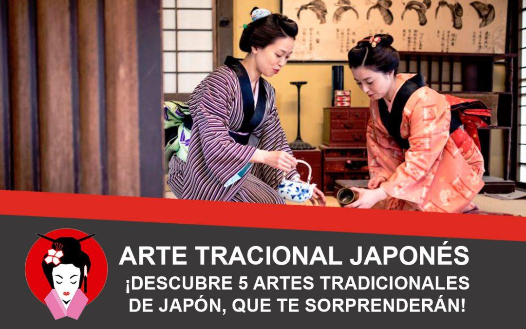 Arte Japonés, descubre 5 artes japonesas tradicionales que te sorprenderán.